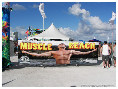 White Party Miami - Greatpartypics\Sunday - Muscle Beach
