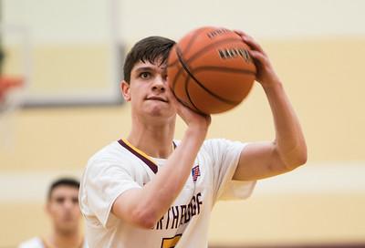 Basketball: vs. Francis Parker 1/24/18