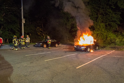 10-4-16 Mutual-Aid Car Fire & Extrication Drill With Montrose FD