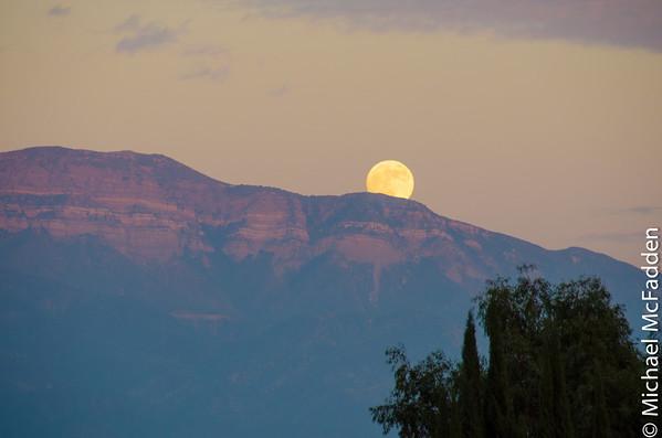 Ojai Moonrise
