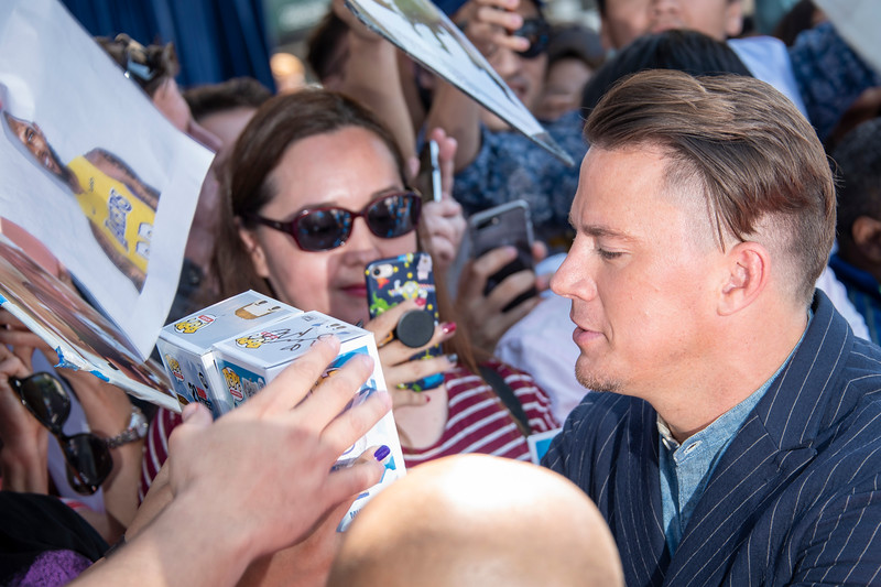 WESTWOOD, CA - SEPTEMBER 22: Channing Tatum arrives at the Premiere Of Warner Bros. Pictures' 'Smallfoot' at Regency Village Theatre on Saturday, September 22, 2018 in Westwood, California. (Photo by Tom Sorensen/Moovieboy Pictures)