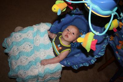 Brendyn at six weeks old