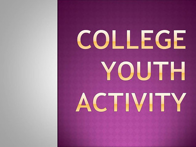 College Youth Activity