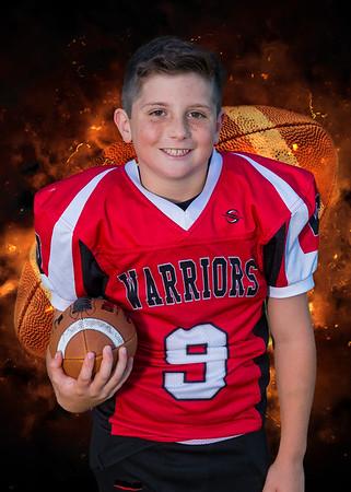 Warriors Football Trejo