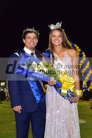 Homecoming Football Game and Court Crowning 10-11-19