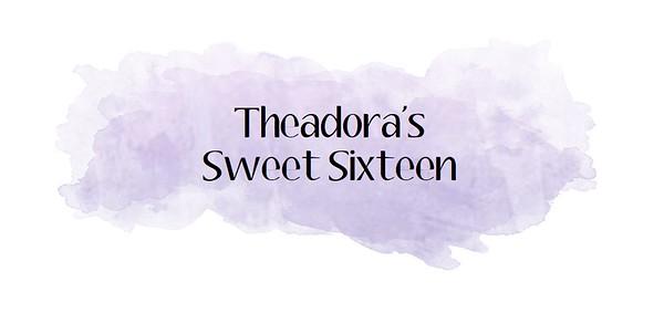 Theadora's Sweet 16
