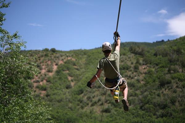 Zipline - Glenwood Springs, CO