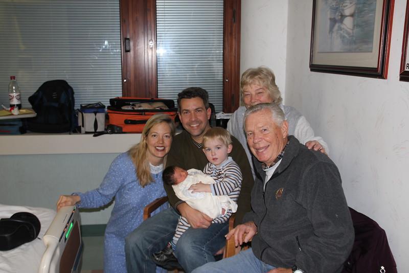 With Nana and Papi