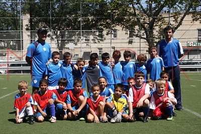BROOKLYN - AUGUST 29: Brooklyn Italians Soccer Academy Tournament at New Utrecht High School on Sunday, August 29, 2010 in Brooklyn, NY.