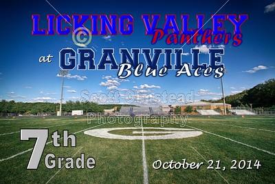 7th Grade Licking Valley at Granville (10-21-14)