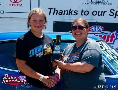 2018 -  Oahe Speedway - Winners Circle -  06-10-18