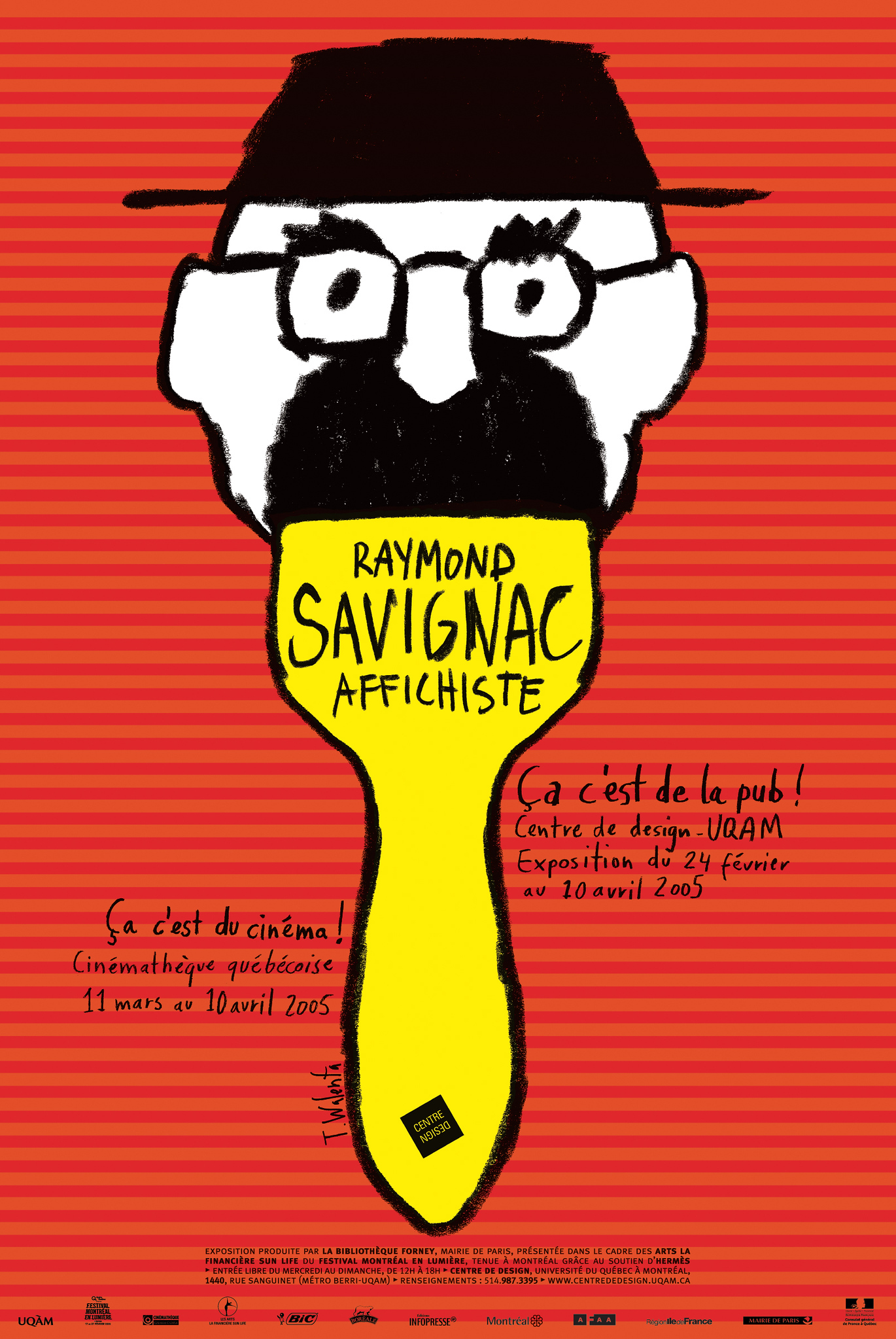 2004 - Exposition - Raymond Savignac affichiste Ça c'est de la pub ©Tomasz Walenta