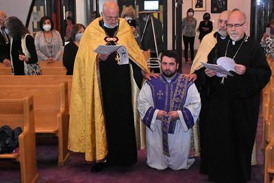 Ordination of Fr. Nigoghos Aznavourian (May 28-29, 2021)