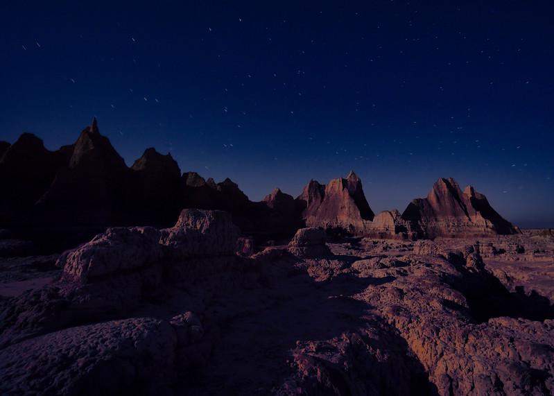 Badlands-Nightscape