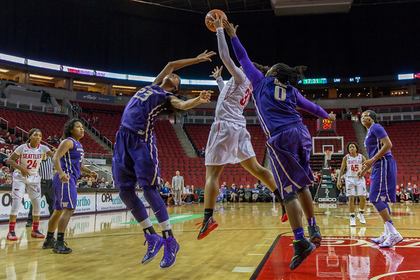 Seattle U Womens Basketball vs UW Huskies