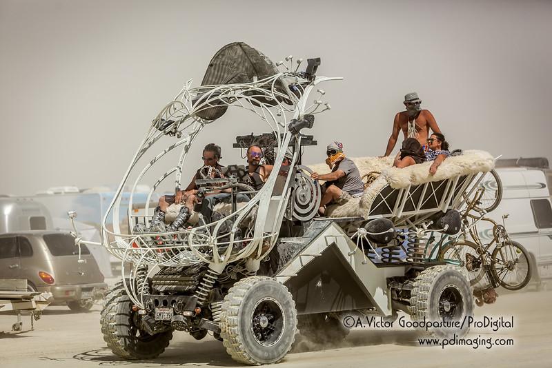 Art car creativity.