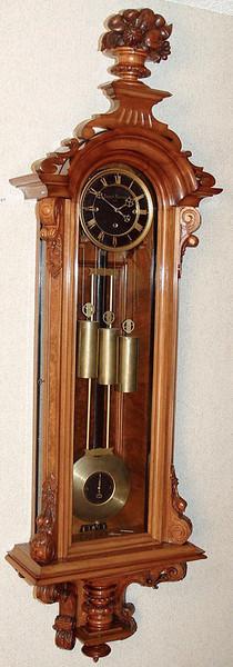 VR-298 - Month-duration Altdeutsche Austrian Granne-Sonnerie striking Vienna Regulator by August Lorenzy in Wien