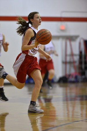 7th Girls Basketball 12-8-2014