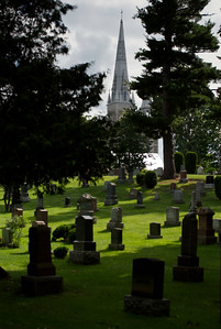 Cemetery;Church