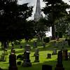 Cemetery;Church
