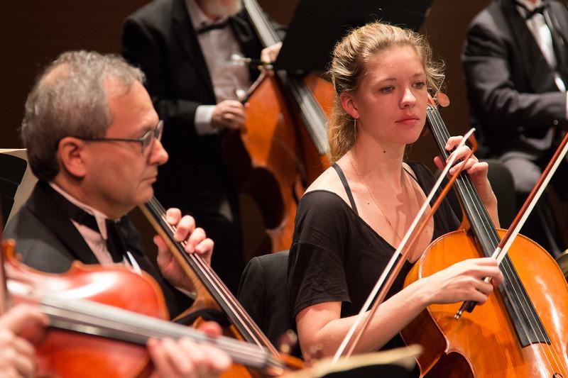 David Zelinsky, Carol Anne Bosco -- Symphony of the Potomac at the Cultural Arts Center, Silver Spring, MD, February 2018.