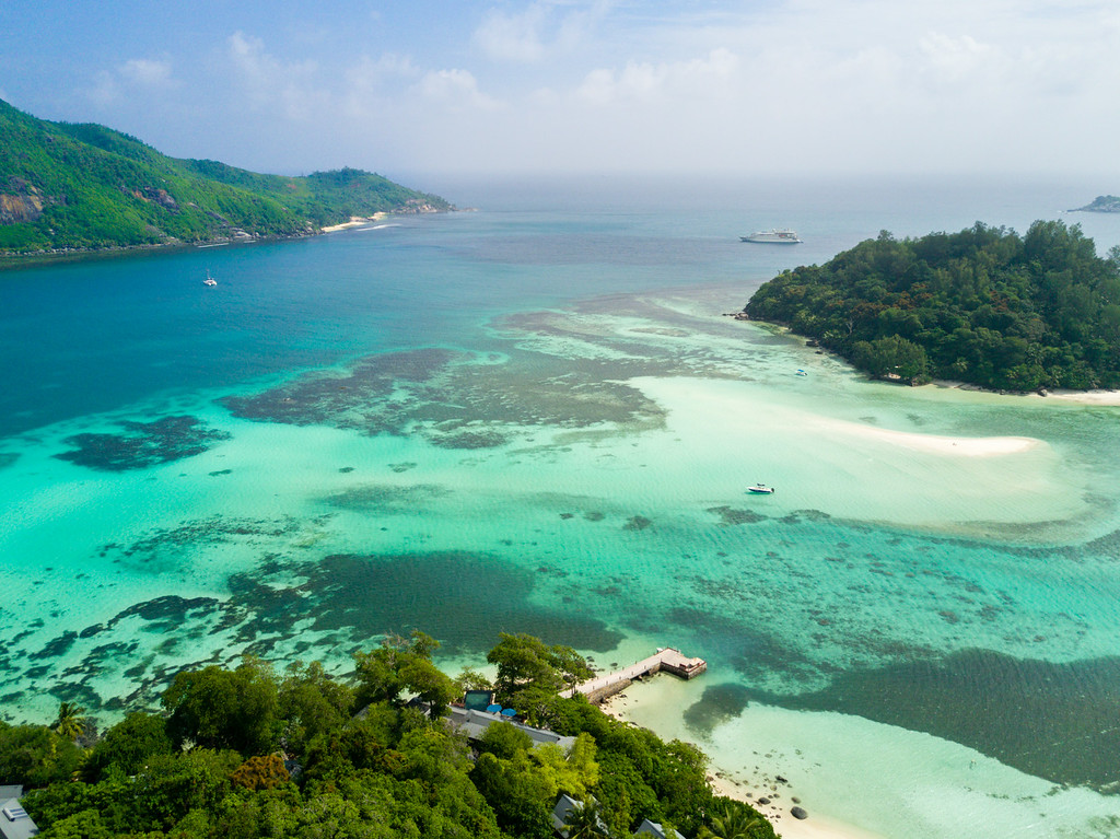 Sainte Anne Island in the Seychelles