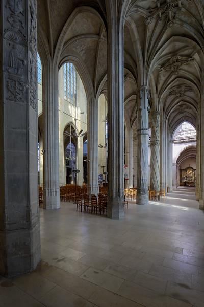 Gisors Church Aisle Columns