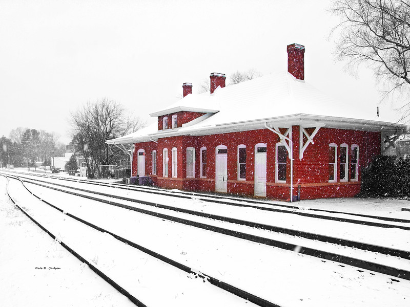 Winter at the Depot