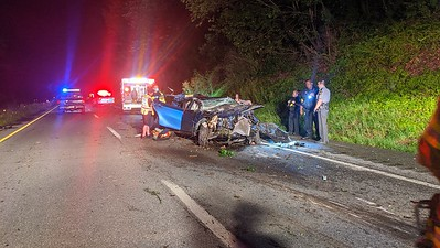 MVA w/ Entrapment - Route 30 Bypass - Valley Twp