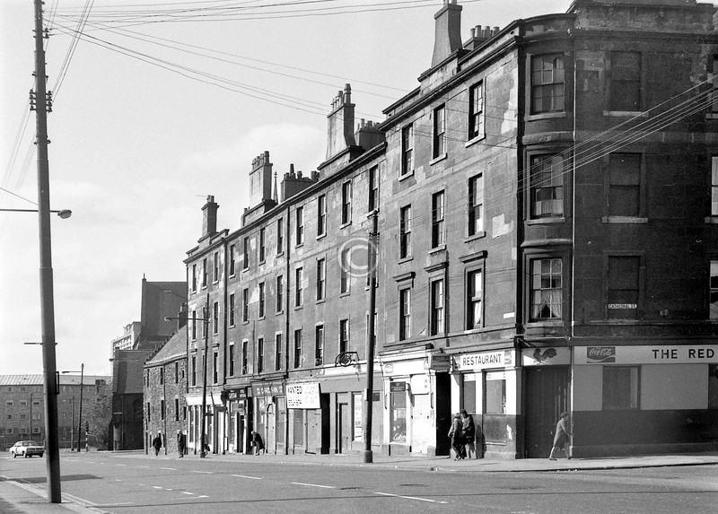 Castle St., west side, south of Cathedral St.    April 1973