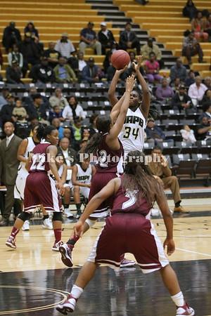 Alabama A & M at UAPB Women Basketball 2013