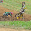 O.M.G crash : Rider is OK
