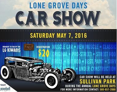 Lone Grove Days Car Show 2016