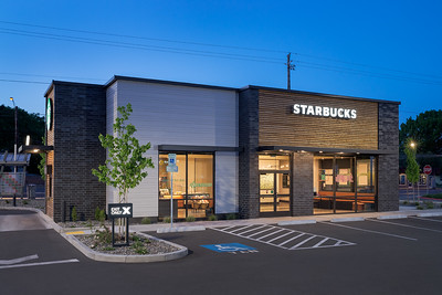 Starbucks, Vancouver WA.  Client:  Baysinger Partners Architecture, Portland OR.