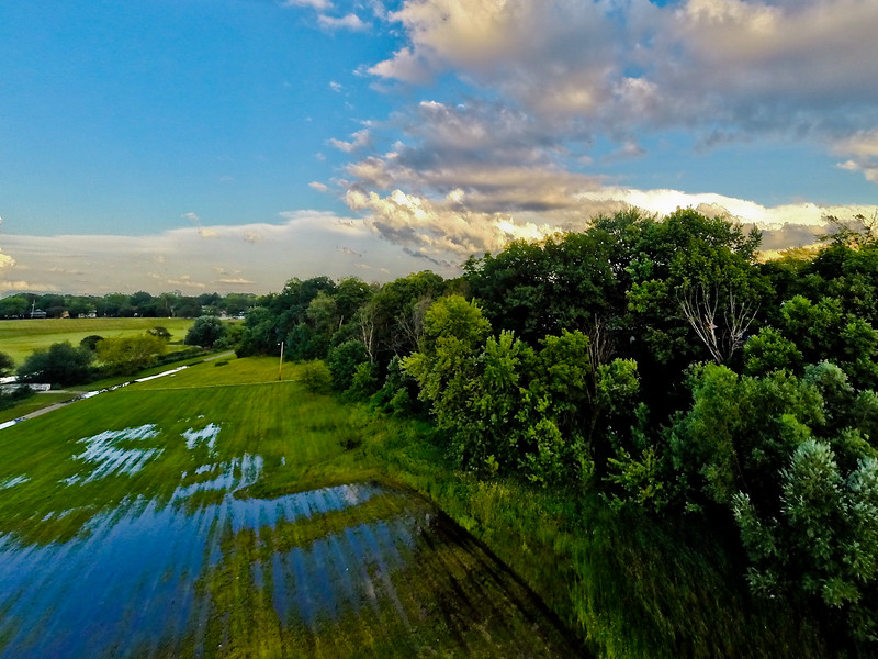 Summer Sunset at the Park 6 : Aerial Photography from Project Aerospace