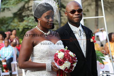 "THE MARRIAGE CEREMONY BETWEEN AGNES MWABURY  AND JONAH SLEWEON SATURDAY SEPTEMBER 5th,2015 WAS HELD AT MINNEAPOLIS GIFT MART 10301 BREN ROAD WEST HOPKINS,MN.55343. PHOTO BY:""TARNUE'S PHOTO & VIDEO."" 612.913.2831"