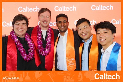 Caltech 2021 Virtual Commencement Viewing - Stills