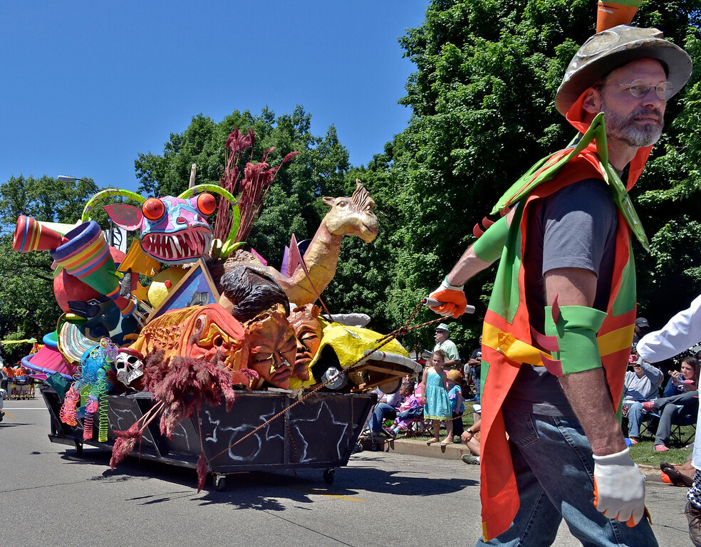 . Jeff Forman/JForman@News-Herald.com The Cleveland Museum of Art 25th annual Parade the Circle June 14 in University Circle.