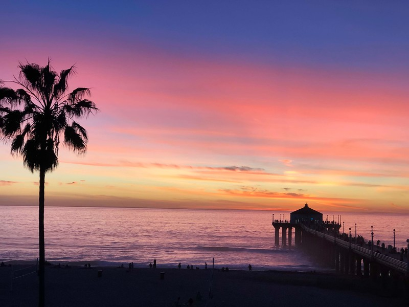 A Manhattan Beach Sunset
