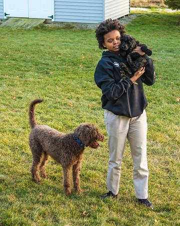 Zoe and Ebony