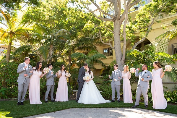 Caitlin & Andrew: Bridal Party & Family