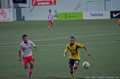 Singapore (Lions XII) vs Terengganu - 28 Jan 2012
