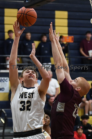 Willamette vs. West Albany Boys High School Basketball