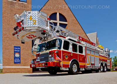 Ossining Truck42 E-One photo shoot
