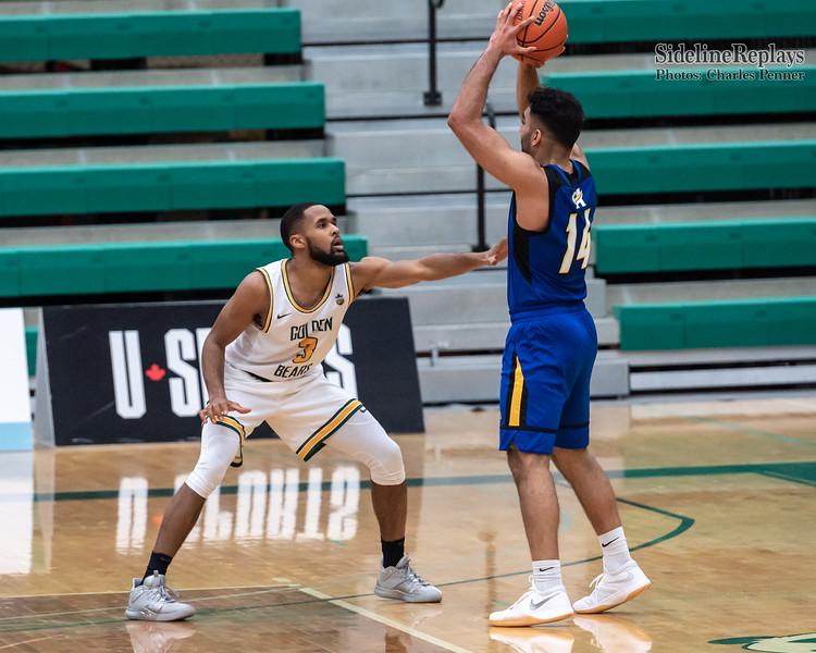 Basketball - UofA Bears vs UBCO Heat