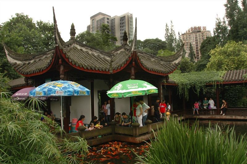 People's Park Teahouse - Chengdu, China