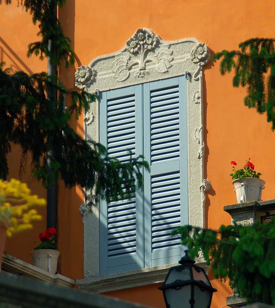 Flowered Frame --Bergamo, Italy