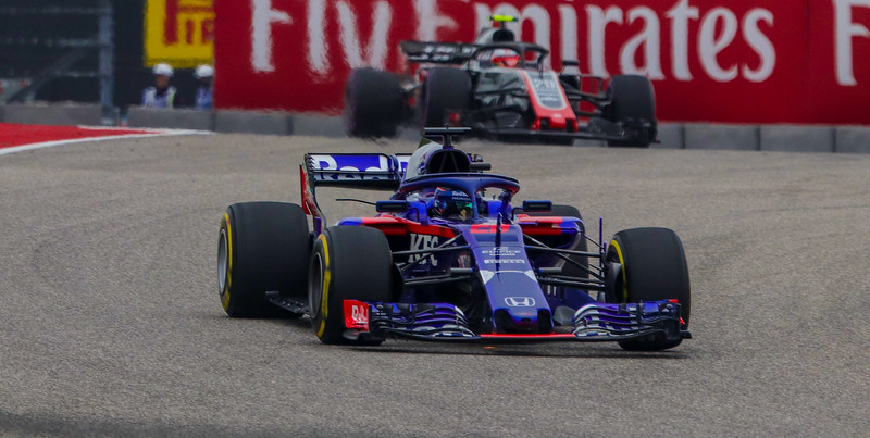 Brendon Hartley, Toro Rosso Racing. F1 cars are very competitive and precision is key. Each car has about 200 sensors, some recording data a thousand times per second.