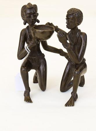 20110626 - Burkin Art gallery opening - bronsgieten