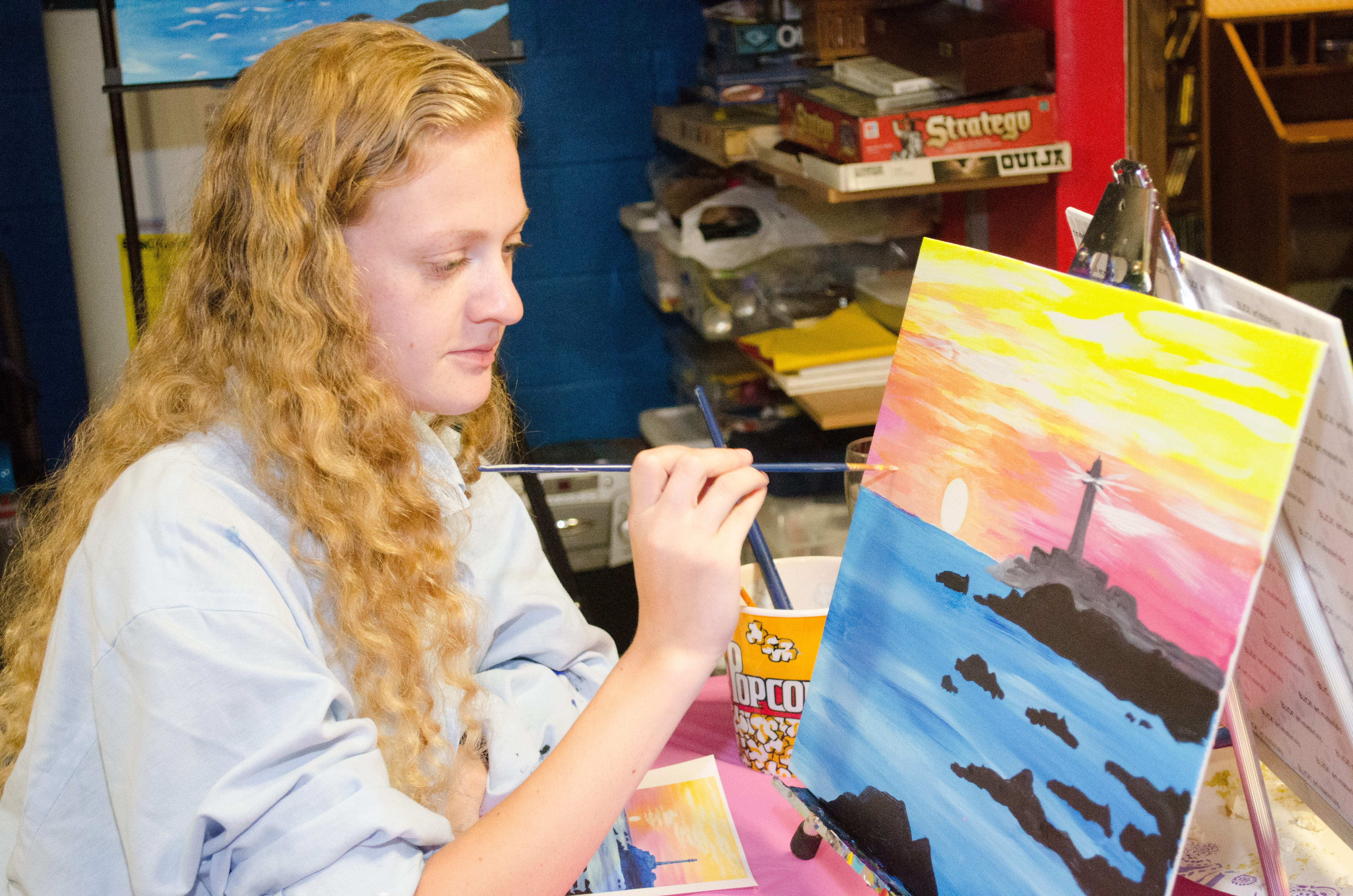 20150618 Eileen Strauss Painting Party